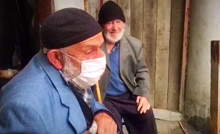 Trabzon'da dedeler böyle kavuştu