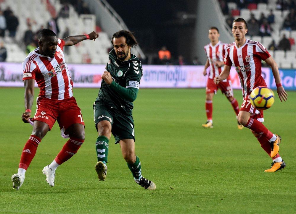 Sivasspor, Konyaspor'a geçit vermedi