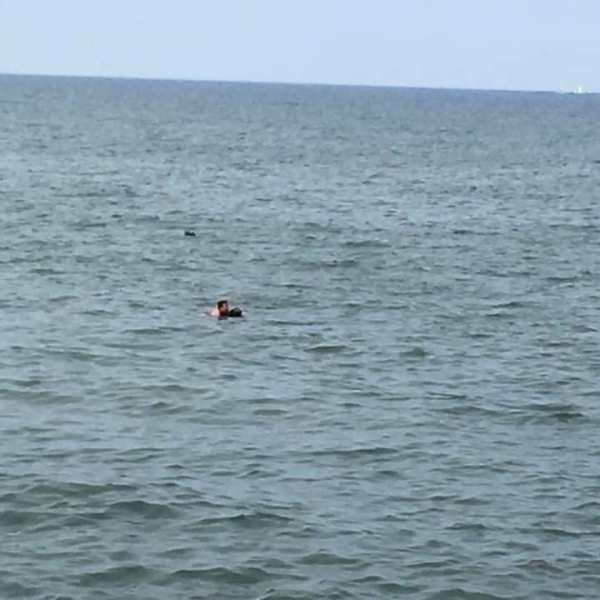 Karadeniz'de intihar girişimi böyle bitti - Seferber oldular...