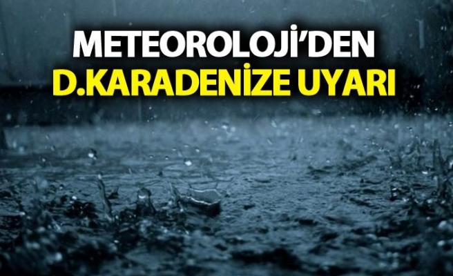 Trabzon'da beklenen yağış geldi