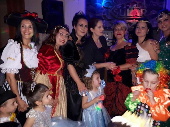 Trabzon'da erken yılbaşı kutlaması