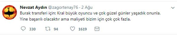 Trabzonspor yöneticisinden Burak Yılmaz mesajı