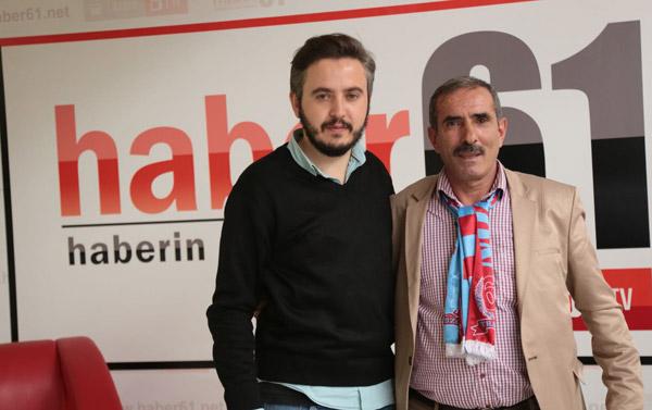 Erzurumlu Şota Trabzonspor Fenerbahçe maçına geldi