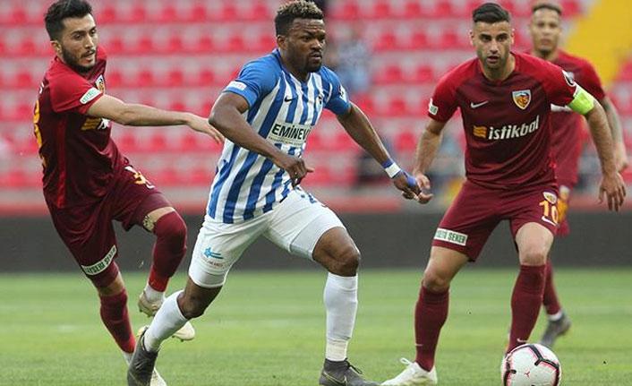 İstikbal Mobilya Kayserispor 0-2 BB Erzurumspor