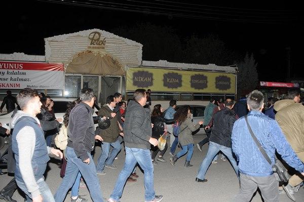 Eskişehir'de tencere-tavalı eyleme 10 gözaltı