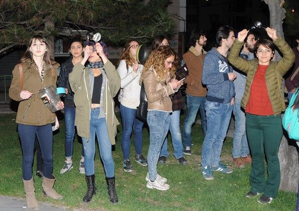 Eskişehir'de tencere-tavalı eyleme 10 gözaltı 2