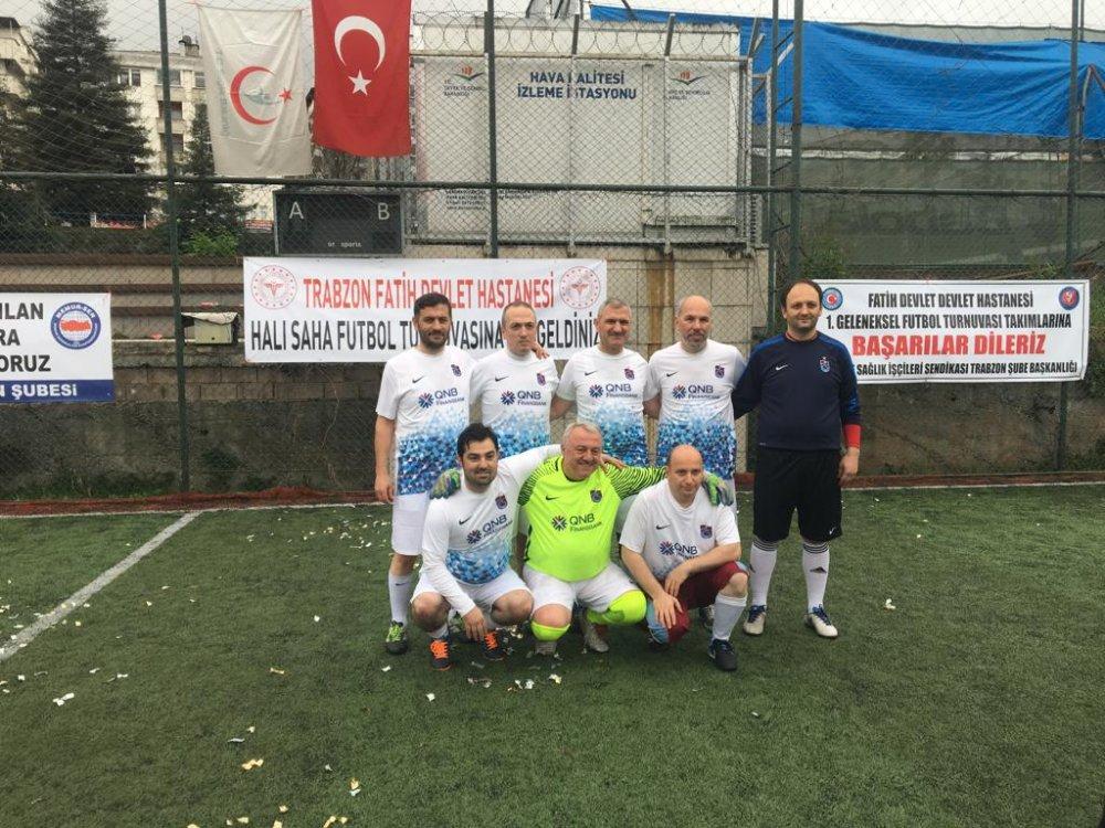 Trabzon Fatih Devlet Hastanesi'nin Halı Saha Turnuvası başladı