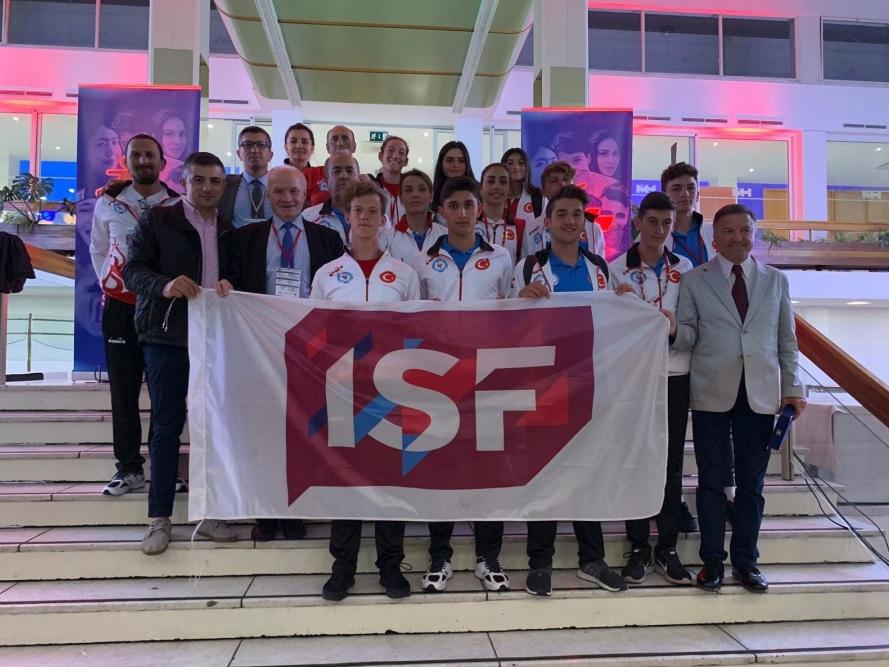 ISF Bayrağı Trabzon yolunda!