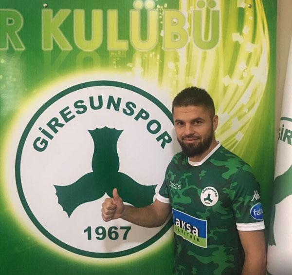 Eski Trabzonsporlu Giresunspor'da