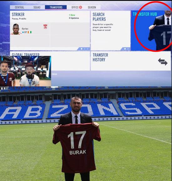 FIFA 19'da Burak Yılmaz sürprizi