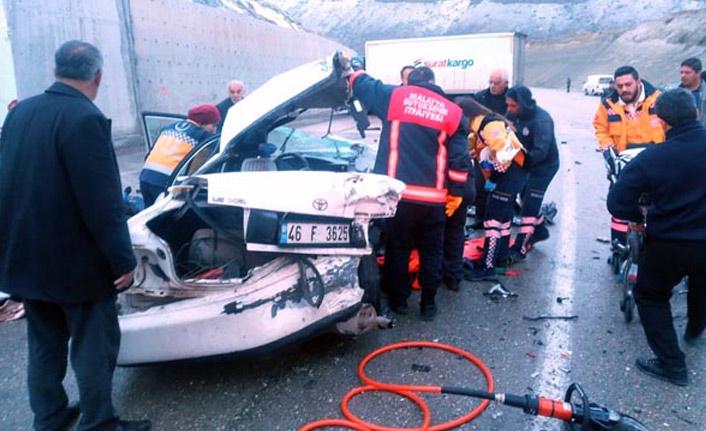 Malatya'da kaza: 2 ölü 3 yaralı