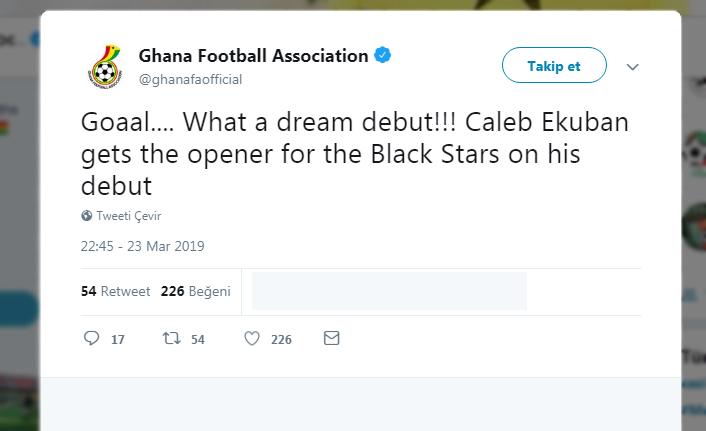 Ekuban attı, Gana kazandı! Sosyal medya yıkıldı!