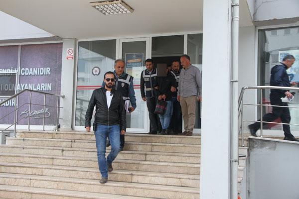 Trabzon'da 555 Bin TL'lik vurgunu yapan yakalandı!