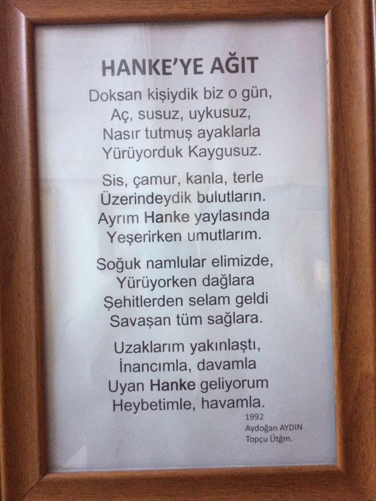 hankeye şiir