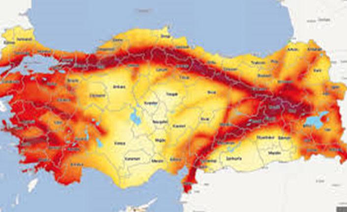 Yeni deprem tehlike haritası yarın yürürlüğe giriyor!