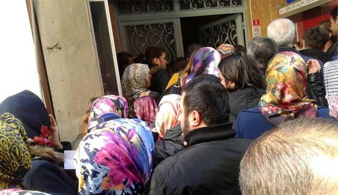 Trabzon'da İŞKUR kuyruğu
