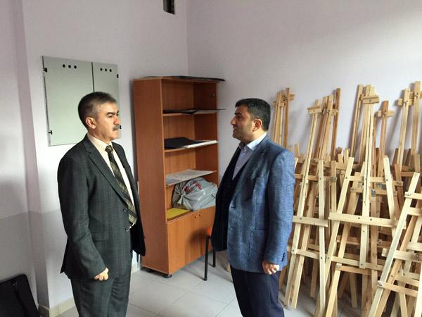 Temel Altunbaş'tan imam hatip lisesine ziyaret