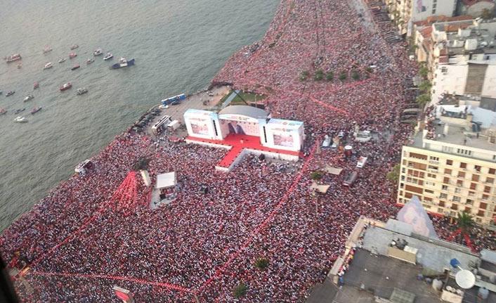 İnce'den İzmir'de rekor miting