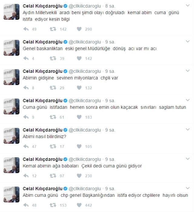 Kılıçdaroğlu istifa mı ediyor?