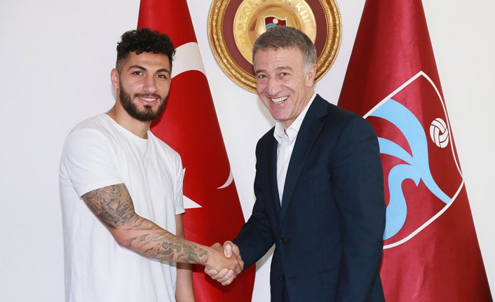 Trabzonspor Kamil Ahmet'i resmen duyurdu!