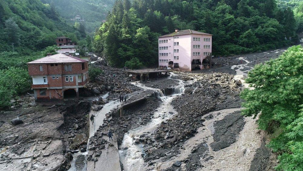 Trabzon'daki şiddetli yağışların nedeni belli oldu