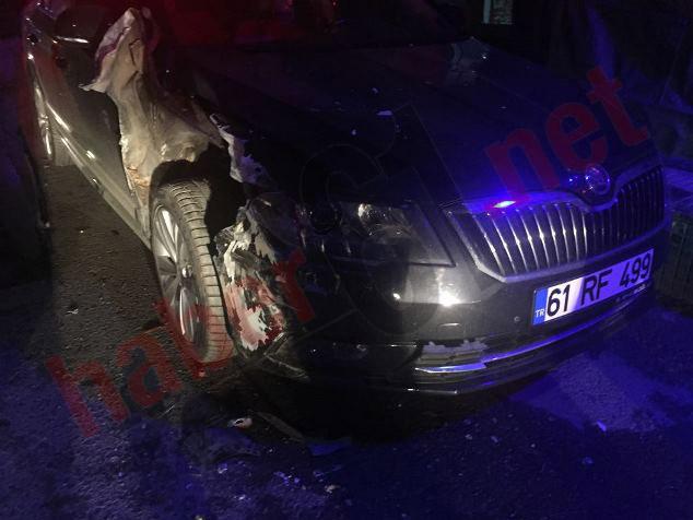 Maçka'da kaza: 1 Yaralı