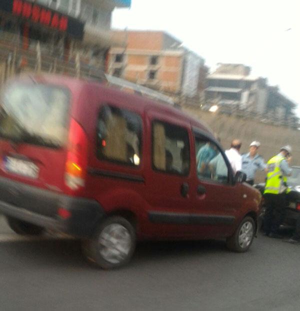 Trabzon'da zincirleme kaza: 5 araç birbirine girdi