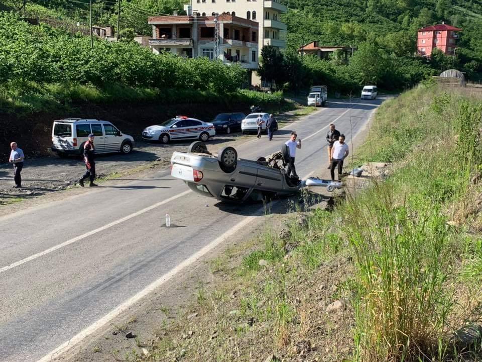 Trabzon'daki kazadan acı haber - Kucağından bırakmamıştı