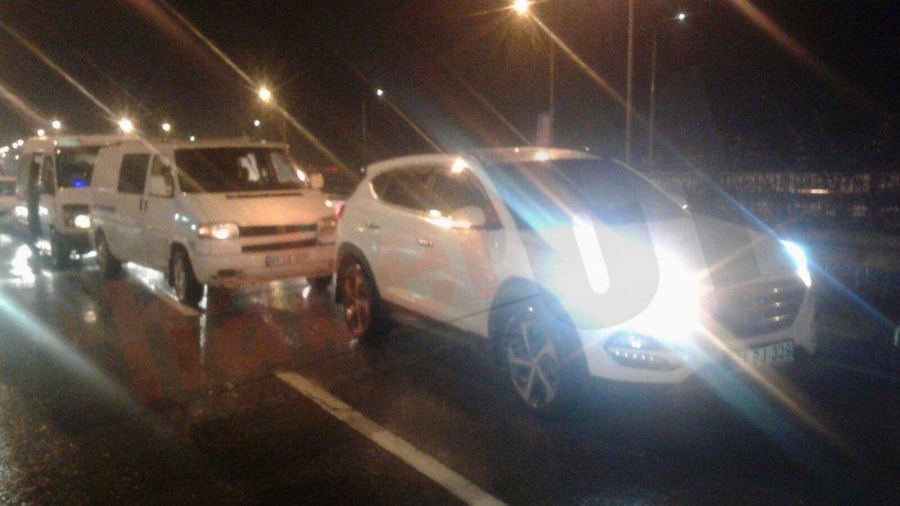 Trabzon'da kaza: 6 araç birbirine girdi