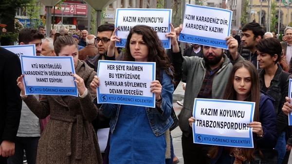Kazım Koyuncu'yu KTÜ'de anmaya izin verilmemesine tepki