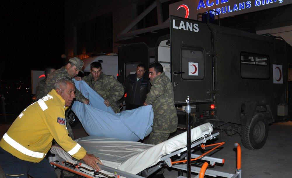 Kışlada kavga çıktı : 7 asker yaralı