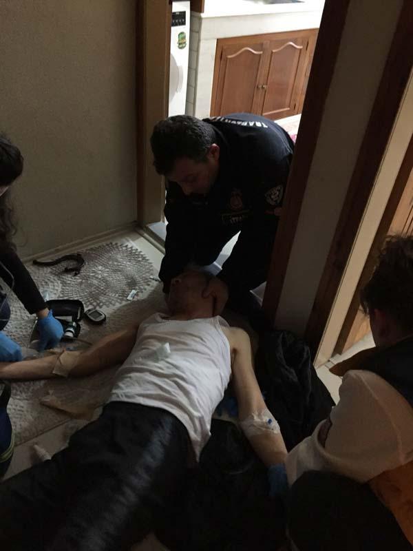 Trabzon'da şeker komasına giren vatandaşın imdadına onlar koştu