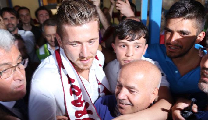 Juraj Kucka Trabzon'da geldi