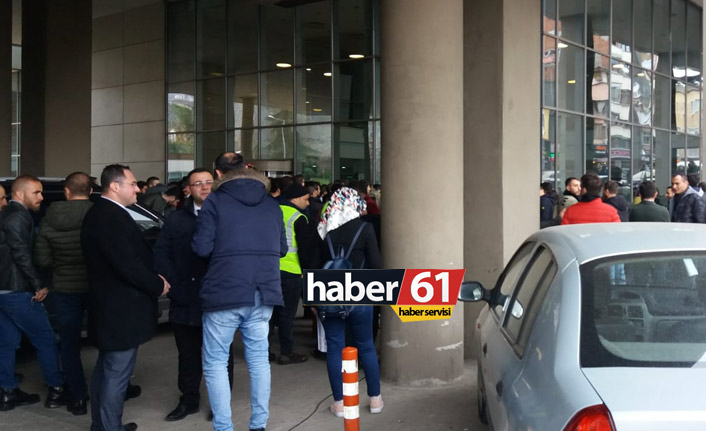 Trabzon Belediyesinde iş başvurusu kuyruğu