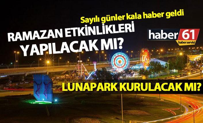 Trabzon'da Lunapark'ın kaldırılmasına imzalı tepki