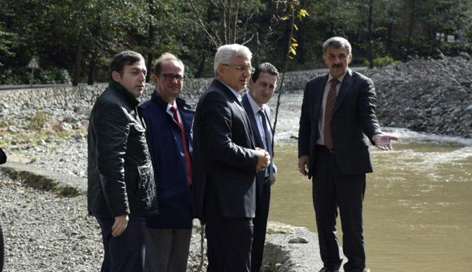 Uzungöl'de macera parkı yapılıyor