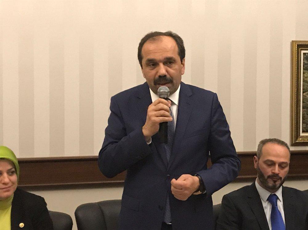 AK Parti Vakfıkebir İlçe Teşkilatı Ankara'da toplandı
