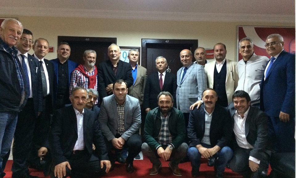 ASKF'den MHP'ye ziyaret