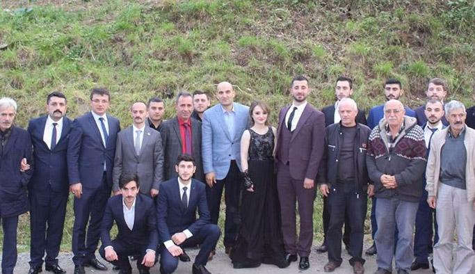 Ülkü Ocakları Genel Başkanı Trabzon'da kız istedi