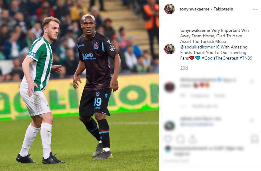 Nwakaeme'den Abdülkadir'e: Türk Messi