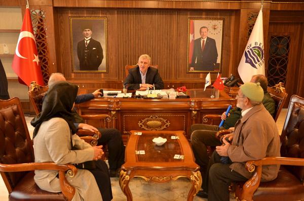 Başkan Sarıalioğlu'nun Halk Günü Mesaisi