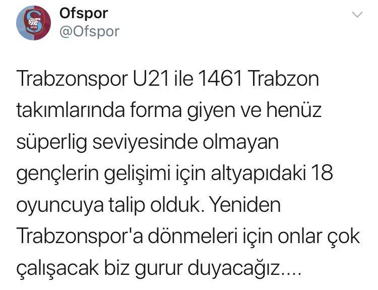 Trabzonspor'un 18 oyuncusuna talip çıktı