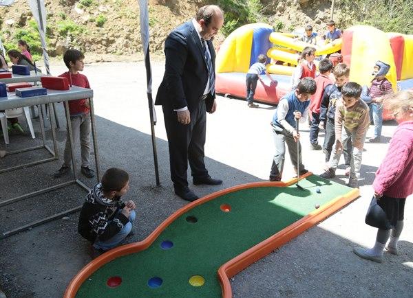 Çocuklar 'Spor Parkı'nı sevdi 1