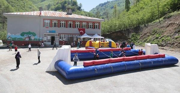 Çocuklar 'Spor Parkı'nı sevdi 2