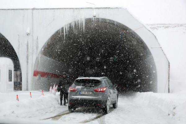 Ve Ovit Tüneli ulaşıma açıldı!
