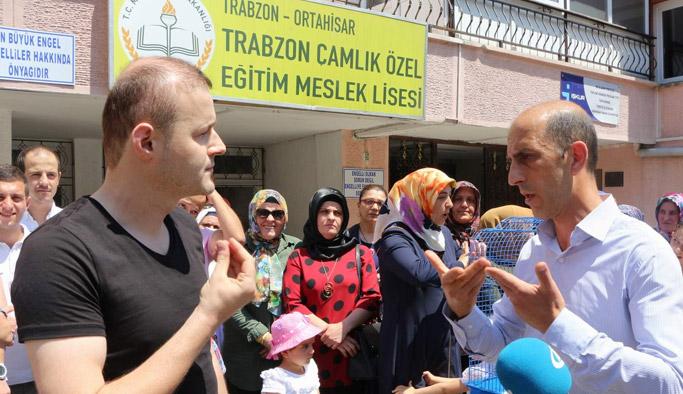 Trabzon'da öğrencilerin isyanı! Erdoğan'a çağrı...