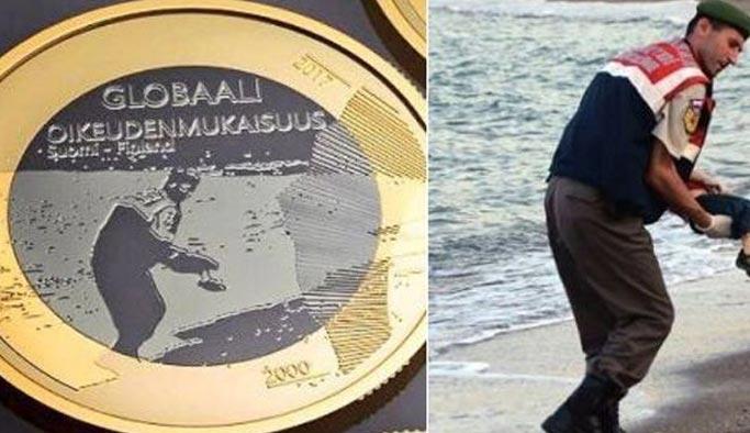 Paraya Aylan Kurdi'nin fotoğrafı basıldı