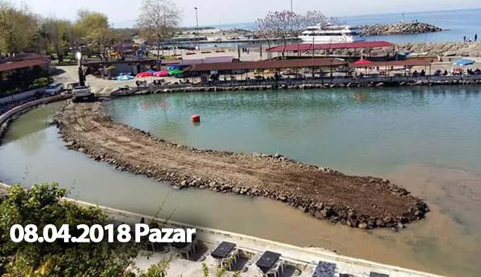 Trabzon'da Ganita'dan o görüntü kalktı