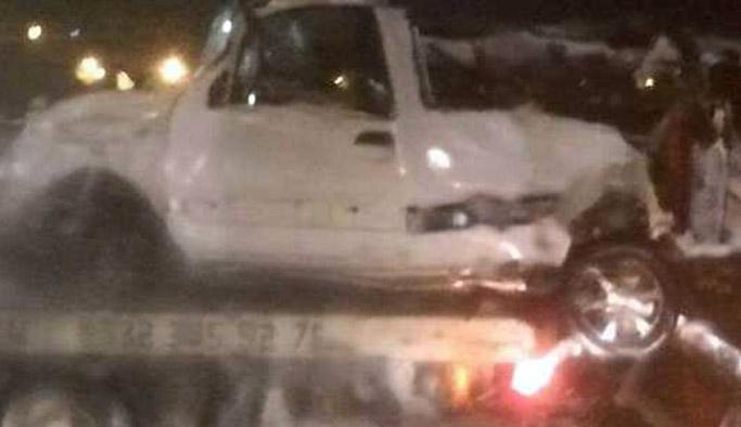 İzinsiz araba kaçamağı pahalıya patladı! 2 ölü 3 yaralı