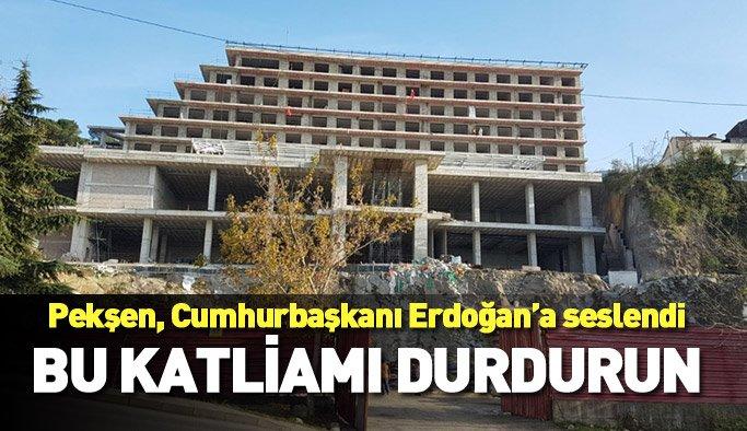 Başkan Gümrükçüoğlu'ndan Pekşen'e otel cevabı